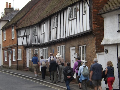 Members visit Sheep Street, Petersfield in 2016